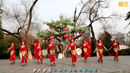 刘荣广场舞《索玛花开》