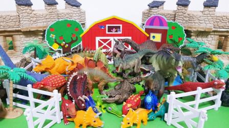 洞窟里有很多恐龙!那些恐龙都去哪里呢?希望大家能喜欢
