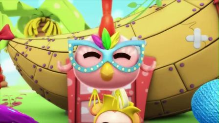 逗逗迪迪爱探险:鹦鹉得到神秘人面具,接下来该去找南瓜地了(1)