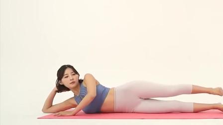 瑜伽少女:美女展示瑜伽,这身材柔韧性让女人都羡慕