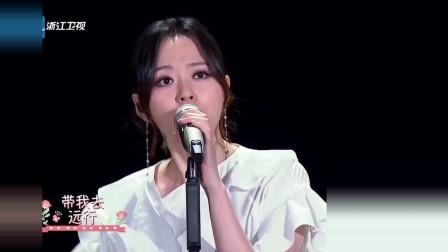 张靓颖把《东西》再度唱火,满满的青春感!