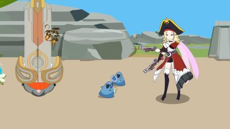 王者动画小剧场第152集:扁鹊想蹭助攻却送了两个人头