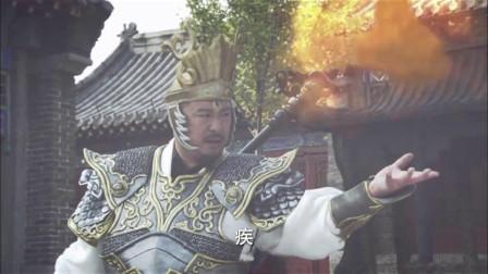 蜃挑唆杨戬将石敢当就地正法,还好杨戬没有他听他的