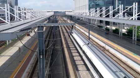 2020年7月6日,G66次(广州南站—北京西站)本务中国铁路北京局集团有限公司北京动车段石家庄动车运用所CRH380AL-2565广州北站通过