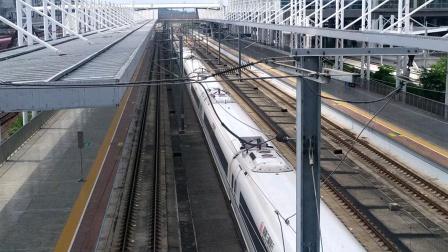 2020年7月6日,G6127次(长沙南站—湛江西站)本务中国铁路广州局集团有限公司广州动车段长沙动车运用所CRH380B统型广州北站通过