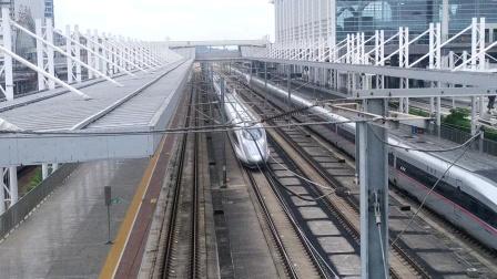 2020年7月6日,G631次(南昌西站—广州南站)本务中国铁路南昌局集团有限公司南昌车辆段南昌西动车运用所CRH380A统型广州北站通过