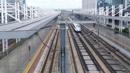 2020年7月6日,G632次(广州南站—南昌西站)本务中国铁路南昌局集团有限公司南昌车辆段南昌西动车运用所CRH380A统型广州北站通过