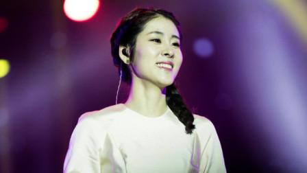 张碧晨现场演唱《红玫瑰》,独特的风格,沸腾全场
