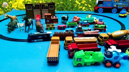 运输车和工程车玩具,托马斯火车玩具,卡通小汽车玩具