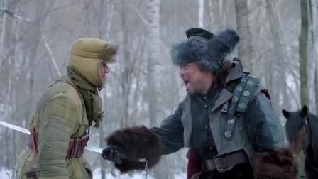 林海雪原:剿匪小分队战士跟拼刺刀,英勇牺牲!