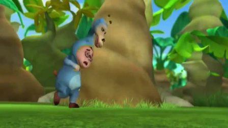 熊仔:熊仔利用水果,消耗米帆的电,马上就要成功了!