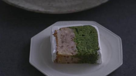 小森林:妈妈做的蛋糕,能够烤成左右两层不同的颜色,神奇!