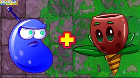 当激光豆和新型植物合体之后,伤害太爆炸,僵尸根本看不懂
