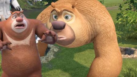 熊大想做螃蟹和鱼光头强来帮忙结果?熊出没