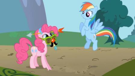 小马宝莉雪莉遇到了飞翔的岩石怎么办?