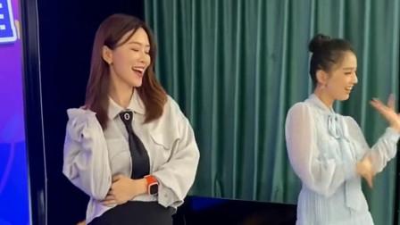 无价之姐黄圣依跟烈儿姐在跳,现场版的舞蹈太好看了,你们喜欢吗?