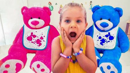 萌宝玩具儿童益智故事:小萝莉玩厨房过家家玩具,简直太有趣了!