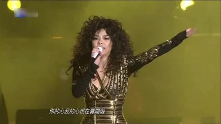 张惠妹现场一首《好胆你就来》劲爆的音乐加上热情演绎,太惊艳了