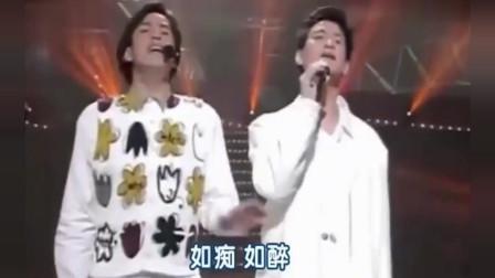 张学友与谭咏麟合唱《一生中最爱》,两位歌神一较高低