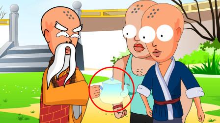 推理动画:奇怪!明明都没有柴了,壶里的水怎么还是自己开了?