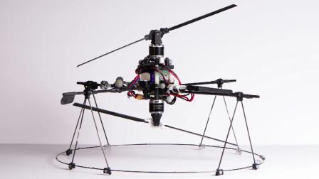 国外早期无人机的实验室测试画面,是不是非常灵活