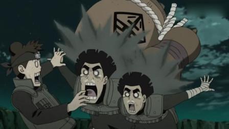 火影:宇智波斑空中扔下六道忍具,地上的凯皇无故躺枪!