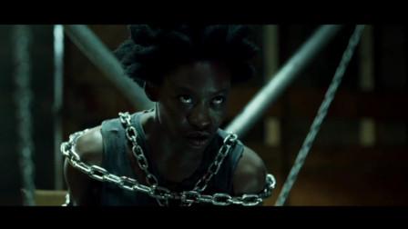 欧美犯罪猛片,黑人女孩拥有不死之身,孤身对战残暴人贩组织,霸气!