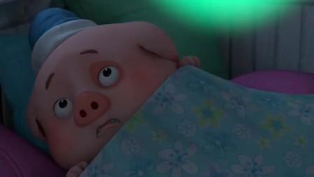 搞笑豆豆猪:原来你是贪吃鬼,还要吃草莓味的冰淇淋