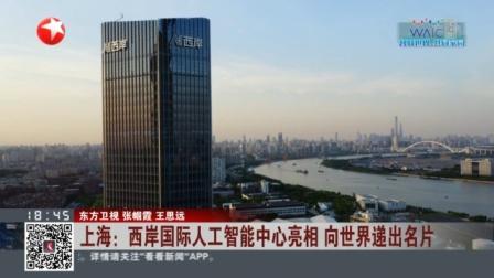 视频|上海: 西岸国际人工智能中心亮相 向世界递出名片