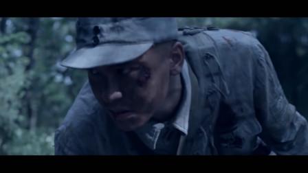 战争片,八路军神枪手一枪打爆日军扔出的手雷,精彩