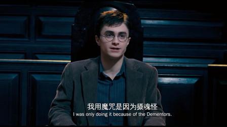 哈利·波特5:听证会上哈利被指控,邓布利多替他辩解