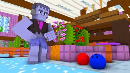 我的世界动画-乱斗之保龄球-WillCrafter