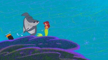 鲨鱼哥和美人鱼:美人鱼比鲨鱼哥还厉害?鱼哥表示不服气