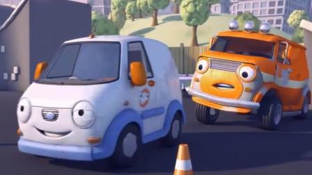 小汽车欧力遇到了大恐龙怎么办?