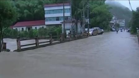 暴雨橙色预警 江西福建湖南等地有大暴雨局地特大暴雨