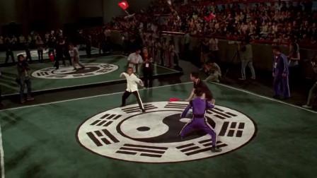 功夫梦:黑人小伙晋级半决赛,于荣光看到有点不敢相信