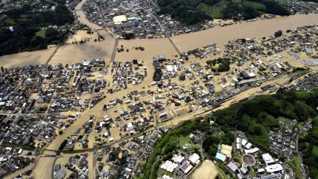 日本暴雨灾害已致57人死亡 境内60条河流泛滥