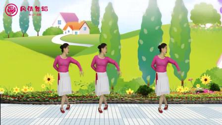 柔情广场舞《梨花飞情人泪》舞蹈优美迷人,好看又好学附教学