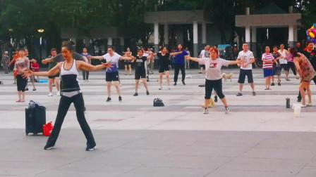 原滋原味的青白江广场舞