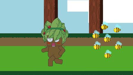 迷你世界动画162:蜜蜂为什么不追兰斯洛特去追迷梭梭