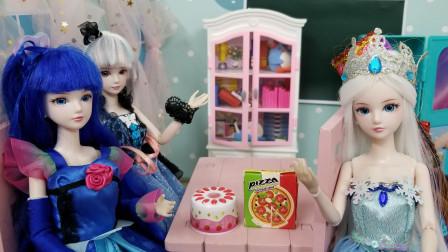 叶罗丽故事 冰公主和学霸陈思思一起玩脑筋急转弯,谁更厉害呢?