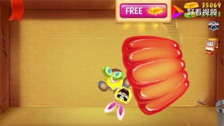 踢巴迪游戏:用果冻、蛋糕和冰激凌对付海绵宝宝巴迪