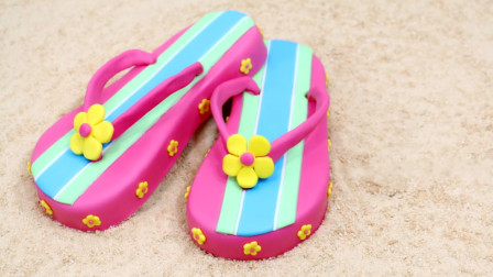 你以为这是夏天穿的拖鞋?这么逼真,原来是牛人发明的创意蛋糕!