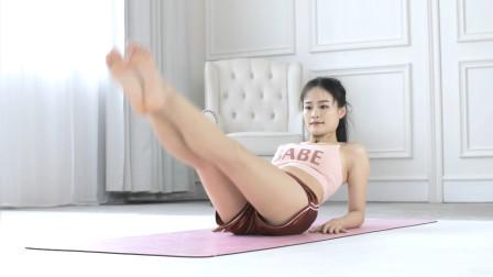 开胯瘦腿排毒模式,3个体式让你快速打造S型身材,每天早晚练习