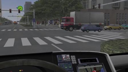 巴士模拟2 野鸡下客操作