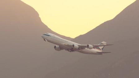 这架飞机怎么感觉那么大?!