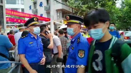 城怎么管:乘风破浪,武汉城管全力护航高考