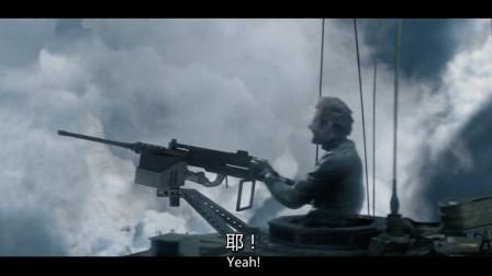 坦克在天上飞,还打下了无人机,厉害了