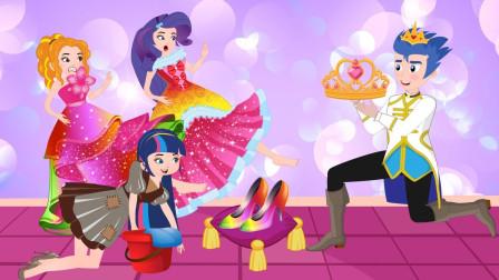 紫悦的优美的舞蹈,很受大家欢迎  小马国女孩游戏