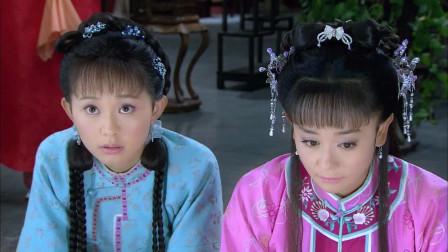 新还珠:令妃告诉紫薇和金锁在宫中要守本分,谁注意到金锁的表情了?